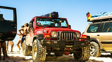 Picture of a Jeep Wrangler Renegade 2005