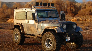 Picture of a Jeep Wrangler Automatic 1989