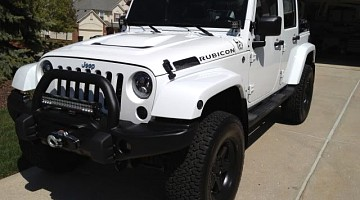 Picture of a Jeep Wrangler Rubicon 2012