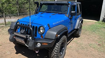 Picture of a Jeep Wrangler Rubicon 2011