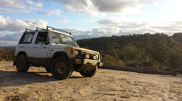 Picture of a Mitsubishi Pajero ND 4D56T 2.5 1987