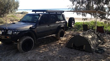 Picture of a Nissan Patrol GU Blown 6.5 Chev Diesel 2003