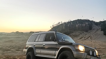 Picture of a Mitsubishi Pajero  1997