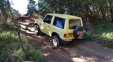 Picture of a Mitsubishi Pajero  1989