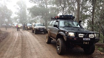 Picture of a Nissan Patrol GU  1998