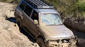 Picture of a Mitsubishi Pajero  2003
