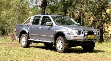 Picture of a Holden Rodeo RA 3L Turbo Diesel 2004