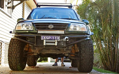 Suzuki Grand Vitara 2004 – 5-inch Suspension Lift, 2-inch