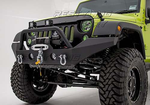 Photo of JW0292 Style Steel Front Winch Bull Bar