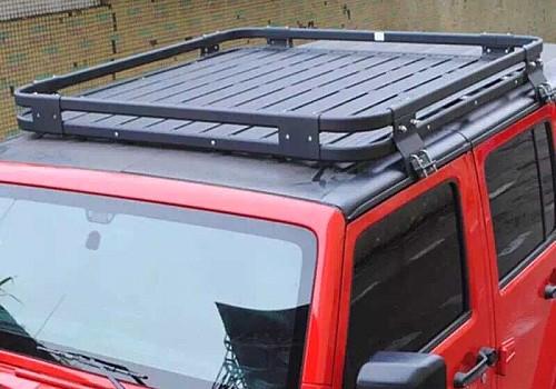 Photo of 4 Door Aluminium Roof Rack Basket Gutter mount A-alloy