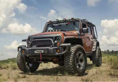 Photo of RR0434 Rugged Ridge Style Style Steel Front Winch Bull Bar