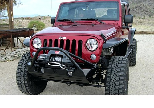 Photo of JW0324 Poison Spyder Style Steel Front Winch Bull Bar