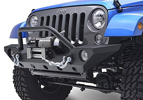 Photo of JW0265 Style Steel Front Winch Bull Bar