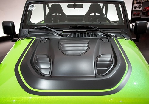 Photo of Tailcat Style Steel Bonnet with Three Vents