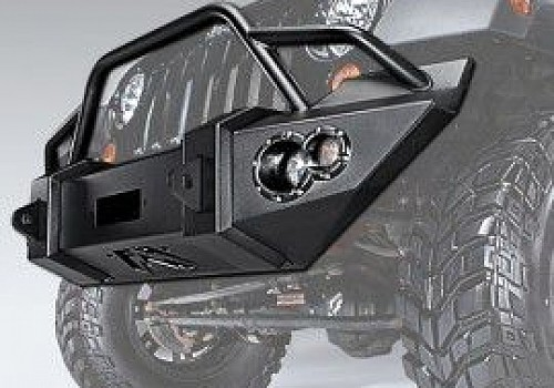 Photo of Fab Fours Lifestyle Winch Bumper With Pre-Runner Grill Guard