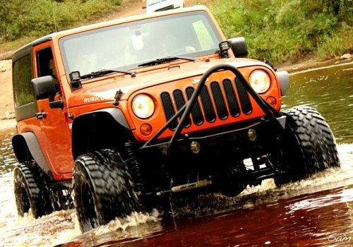 Photo of JW0325 Poison Spyder Style Steel Front Winch Bull Bar