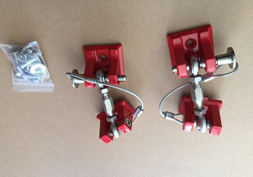 Photo of Red Color Retro Style Bonnet lock Catch Kit