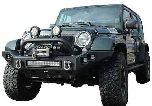 Photo of JW0303 Style Steel Front Winch Bull Bar