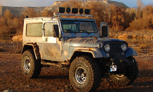 Picture of Jeep Wrangler Automatic 1989
