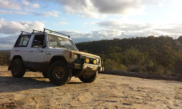 Picture of Mitsubishi Pajero ND 4D56T 2.5 1987