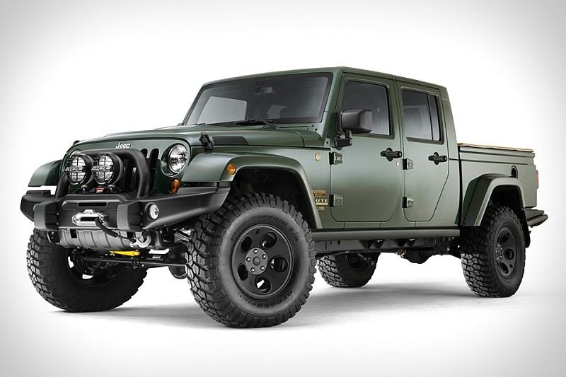 Fister presents the AEV Dual Cab Jeep Wrangler – Offroad News