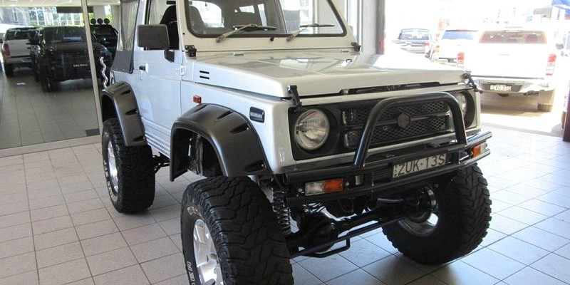 Search Modified Suzuki Jimny Vehicles With Aftermarket