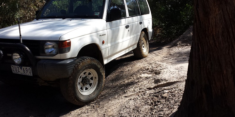 Mitsubishi Pajero nj 2.8 tdi 1995 Off-Road Photo