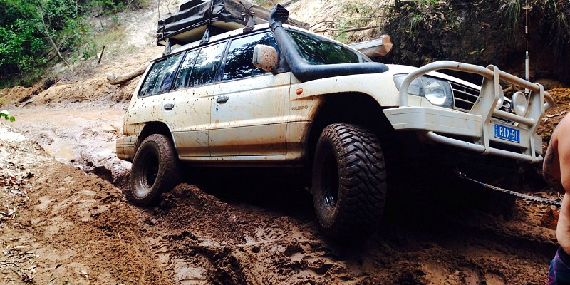 Mitsubishi Pajero NL V6 3500 SOHC Auto 1998 Off-Road Photo