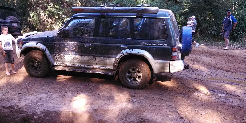 Mitsubishi Pajero nj v6 3000 sohc 1995 Off-Road Photo