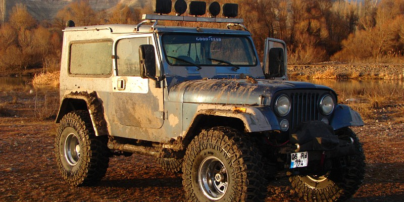 Jeep Wrangler Automatic 1989 Off-Road Photo