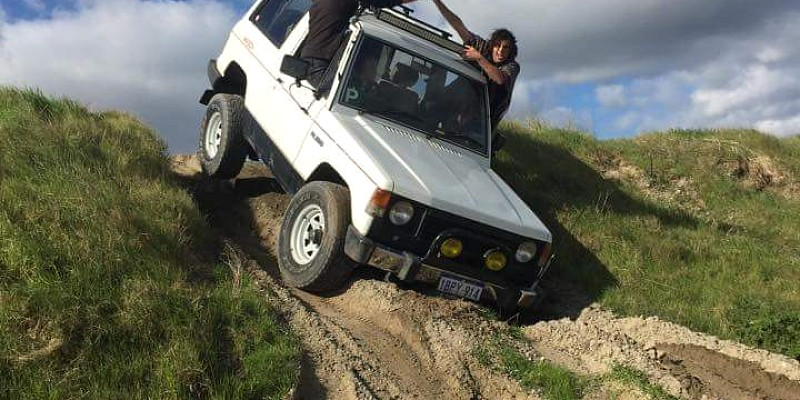 Mitsubishi Pajero ND 4D56T 2.5 1987 Off-Road Photo