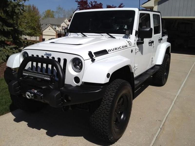 Jeep Wrangler Rubicon 2012 – 3-inch Suspension Lift, 32 ...