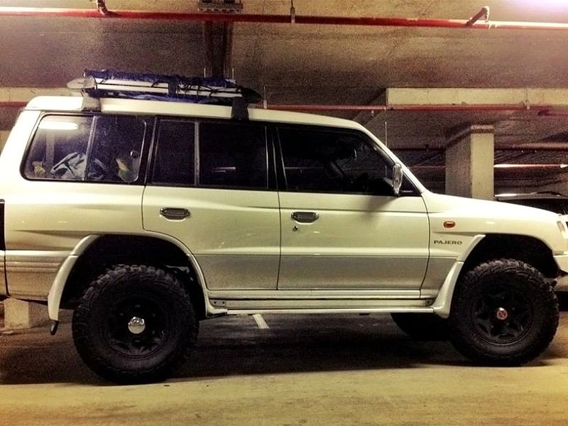 Deluxe Auto Parts >> Mitsubishi Pajero NL V6 3500 SOHC 1998 – 3-inch Suspension Lift, 2-inch Body Lift, 33-inch MT Tyres,