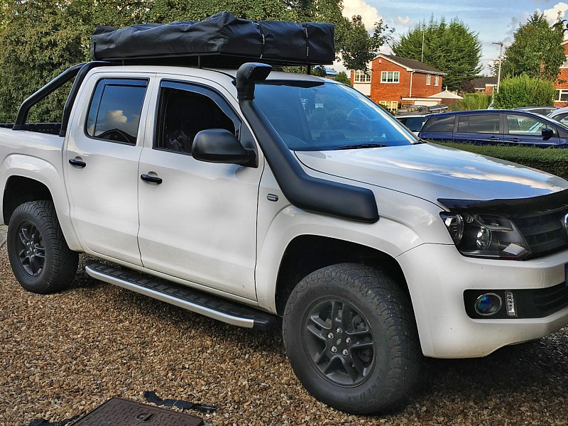 Volkswagen amarok trendline auto 2015 2 inch suspension for Garage volkswagen 92