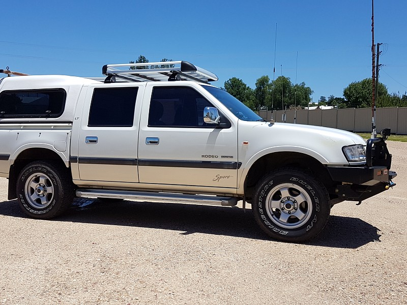 Holden Rodeo Sports 3 2l Petrol Dual Cab 2002 2 Inch