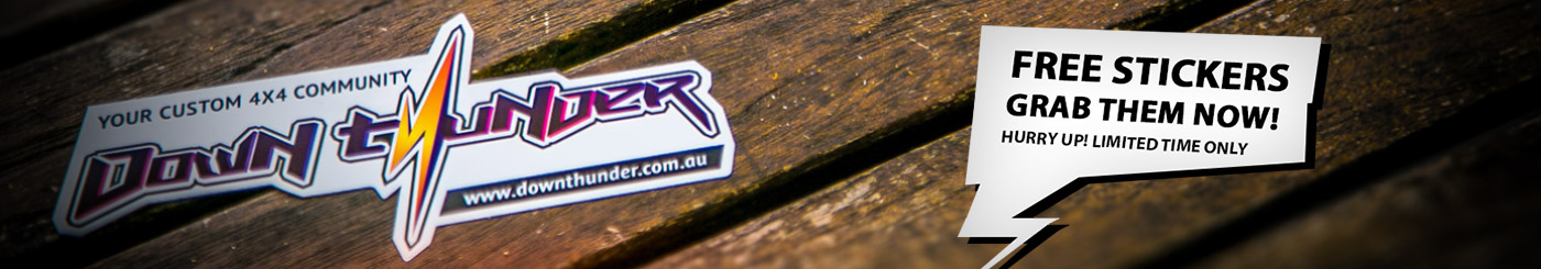DownThunder Sticker