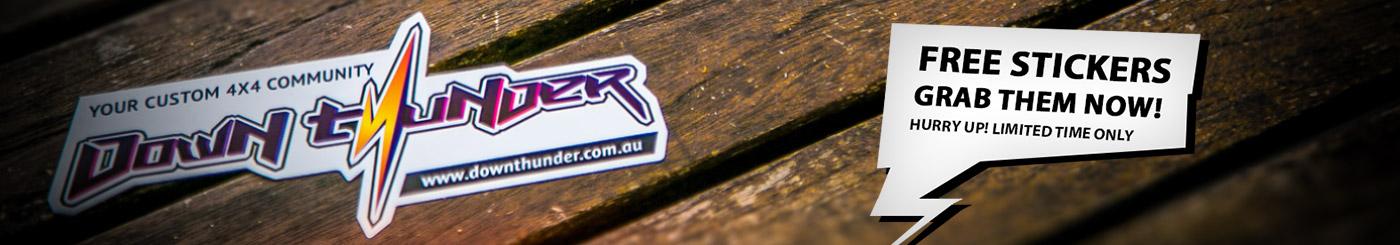 DownThunder Sticker